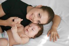 Happy motherhood Royalty Free Stock Photo