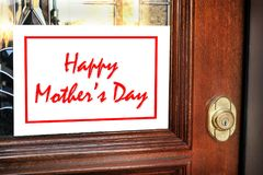 Happy Mothers Day. Royalty Free Stock Image