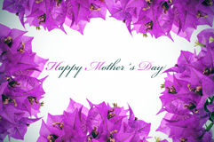 Happy mothers day Stock Photography