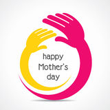 Happy mothers day background concept Stock Photo