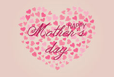Happy Mothers Day Background Design Stock Images