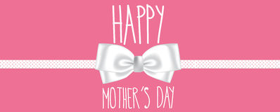Happy mothers day banner Stock Photography