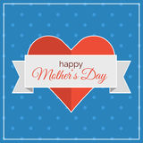 Happy Mothers Day! card.  Stock Photo