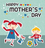 Happy Mothers Day celebration Stock Photography