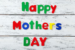 Happy Mothers Day. Close up stock images