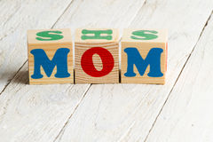 Happy mothers day concept. Royalty Free Stock Image
