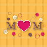 Happy Mothers Day celebration. Royalty Free Stock Image