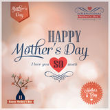 Happy Mothers Day  design elements Stock Images