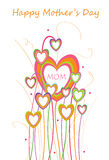 Happy mothers day design Stock Photo