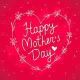 Happy Mothers Day. Excellent gift card Royalty Free Stock Photography