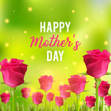 Happy Mothers Day festive card Stock Photos