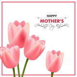 Happy Mothers Day Greeting Card Design. Illustration of a Happy Mothers Day Greeting Card Design royalty free illustration
