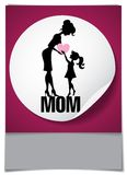 Happy Mothers Day. Stock Image