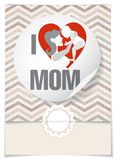 Happy Mother's Day. Stock Photography