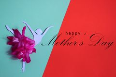 Happy mothers day greeting card, vector illustration. Happy mothers day greeting card vector illustration stock image