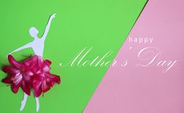 Happy mothers day greeting card, vector illustration. Happy mothers day greeting card vector illustration stock photo