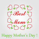 Happy Mothers day greetings Stock Photos