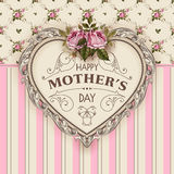 Happy Mothers Day. Holiday Festive Vector Illustration Stock Image