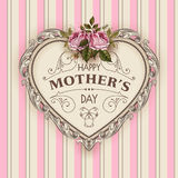 Happy Mothers Day. Holiday Festive Vector Illustration Stock Photography