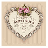 Happy Mothers Day. Holiday Festive Vector Illustration Stock Images