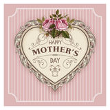 Happy Mothers Day. Holiday Festive Vector Illustration With Lettering Royalty Free Stock Images