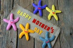Happy mothers day, i love mom Stock Photos
