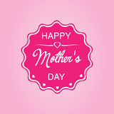 Happy Mothers Day. I love You Mom. Editable vector illustration. Isolated background Royalty Free Illustration