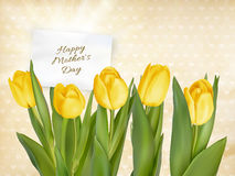 Happy Mothers Day lettering. EPS 10 Royalty Free Stock Photos