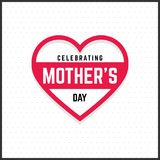 Happy Mothers Day lettering. Handmade calligraphy vector illustr. Ation. Mother\'s day card. For web design and application interface, also useful for Royalty Free Stock Photo