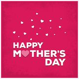 Happy Mothers Day lettering. Handmade calligraphy vector illustr. Ation. Mother\'s day card. For web design and application interface, also useful for royalty free illustration