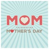 Happy Mothers Day lettering. Handmade calligraphy vector illustr. Ation. Mother\'s day card. For web design and application interface, also useful for Stock Photos
