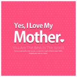 Happy Mothers Day lettering. Handmade calligraphy vector illustr. Ation. Mother\'s day card. For web design and application interface, also useful for Stock Photo