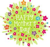 Happy Mothers Day! Royalty Free Stock Photos