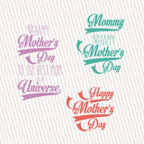 Happy mothers  day Royalty Free Stock Photography