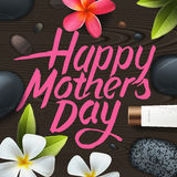 Happy mothers day. Spa therapy Royalty Free Stock Photos
