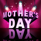 Happy Mothers Day Text Royalty Free Stock Images