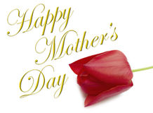 Happy Mothers Day Type Stock Images