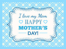 Happy Mothers day. Typography letter font type Stock Photo