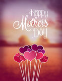 Happy mothers day vector Stock Photo
