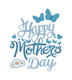 Happy mothers day vector Stock Image