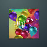 Happy Mothers Day. royalty free illustration