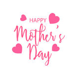 Happy Mothers Day. Vector illustration of a Banner for Happy Mothers Day stock illustration
