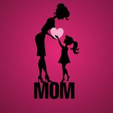 Happy Mothers Day. Royalty Free Stock Photography