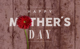 Happy Mothers day vintage background Stock Photo