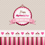 Happy Mothers Day stock illustration