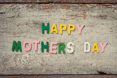 HAPPY MOTHERS DAY Stock Photo