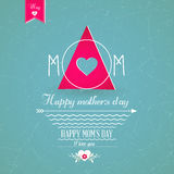 Happy Mothers's Day Greeting Card Royalty Free Stock Photo