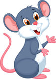 Happy mouse cartoon Royalty Free Stock Photography