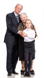 Happy multi-generation family Royalty Free Stock Image