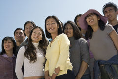 Happy Multiethnic People Stock Photos
